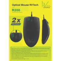 Optical Mouse USB R200 RVTech Garansi 1 Tahun