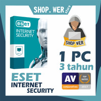 Eset Internet Security 1 Pc 3 Tahun Antivirus Ransomewa Harga Promo
