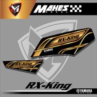 Striping Rx King - Stiker Variasi List Motor Rx King Racing Gold Emas
