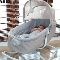 Perlengkapan Bayi tempat tidur bayi kasur bayi kursi goyang bayi Fabio
