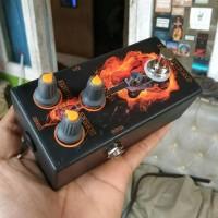 efek gitar Overdrive murah ASFX stompbox pedal guitar Effect over