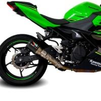 austin racing slip on for Kawasaki ninja 250 / ninja 400 18 up