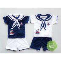 Baju Anak Laki Laki Setelan Baju Bayi Lucu Sailor Ozuka