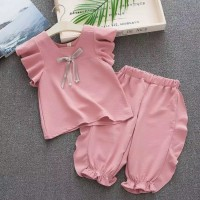 casual baju anak perempuan import, baju&celana perempuan pink