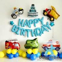 Balonasia Dekorasi Balon Mobil Ulang tahun Anak