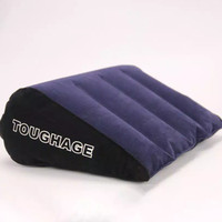 Bantal Tiup Segitiga / Bantal Portable / Tantra Erotic Toughage