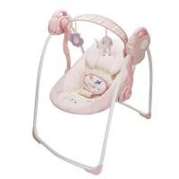 BabyElle Automatic Baby Swing PINK /Ayunan Bayi Elektrik Otomatis