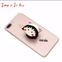 Popsocket 3d Karakter Maruko Rillakuma Panda Brown Pink Rabbit