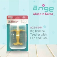 AG.504094 Big Banana teether and toothbrush with case + clip