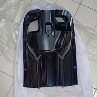 cover inner lower legshield kontak new scoopy fi esp 2017 k93 hitam