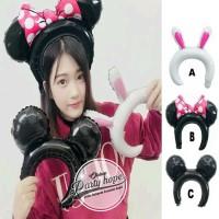 Balon Foil Bando Anak Karakter Hewan / Animal Headband / balon bando