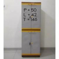 Lemari 4 pintu grand mini club cabinet plastik ( gwinwspknc )