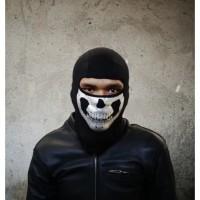 Balaclava Tengkorak Masker Motor Skull Premium Buff
