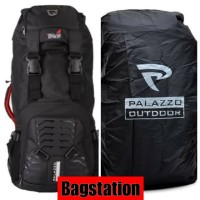 TAS TRAVEL RANSEL CAMPING HIKING CARRIER DAYPACK BACKPACK PALAZZO 70 L