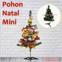 Pohon Natal Mini PVC Premium Tinggi 2 ft Murah