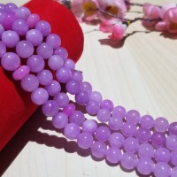 Bahan batu alam ungu lavender 10 mm