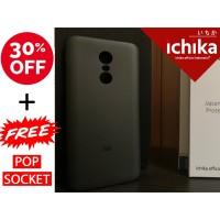 Casing Xiaomi Redmi NOTE 5 Plus Semi Hard ICHIKA Original Case - Black