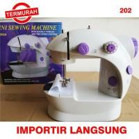 Mesin Jahit Portabel Mini SM202 Portable Sewing Machine