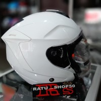 helm ink Dynamic white putih