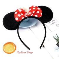 Bando Mickey Mouse Disneyland Murah Bando Kuping Tikus Kostum Cosplay