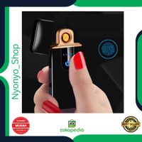 Taffware Korek Api Elektrik Rechargeable Fingerprint Sensor LED