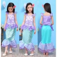 baju anak kostum putri duyung / princess mermaid 2-6 tahun