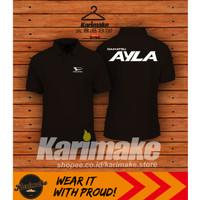 Polo Shirt Kaos Polo Daihatsu Ayla - Karimake