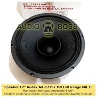 Speaker 12 Inch In Full Range Audax AX 12252 M8 500 Watt AX-12252 MKII