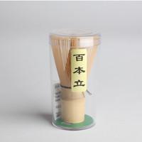 Chasen Bambu Kuas pengocok Matcha Green Tea Japan Bamboo Whisk Brush