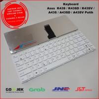 Keyboard Asus K43S K43SJ K43SV K43SD A43S A43SD A43SV Putih