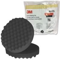 3M 5725 Foam Polishing Pad 8 inch 203mm Busa Hitam