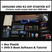 ARDUINO UNO R3 DIP STARTER KIT COMPATIBLE COMPLETE VERSION + DVD EBOOK
