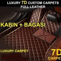 Karpet Luxury Wuling Cortez 7 or 8 seater Full Bagasi-Promo Bonus