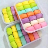 pancake durian medan rainbow mini isi 21 pcs