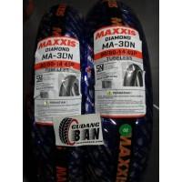 Paket Ban Maxxis 80 80 - 14 Dan 90 80 - 14 MA - 3DN DIAMOND M3