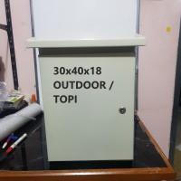 Box Panel Listrik 30x40 Outdoor / Box Panel 30x40 Topi