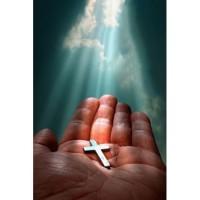 lukisan yesus tanda salib 2