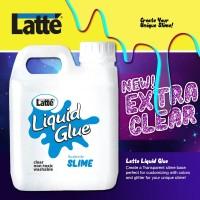 lem slime cair liquid glue Latte 1 liter