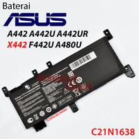 Baterai ASUS A442 A442U A442UR X442 F442U A480U (C21N1638)