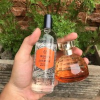 Paket Parfum The body shop Indian Night Jasmine Ori Reject