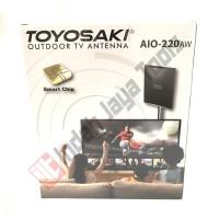 TOYOSAKI AIO-220 AW Antena TV Indoor Outdoor Digital Analog