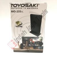 TOYOSAKI AIO-235 Antena TV Indoor Outdoor Digital Analog 220