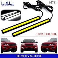 Lampu DRL LED Plasma COB 17cm Lampu LED Variasi Mobil Motor