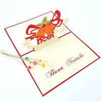 Kartu Ucapan Natal DIY 3D Xmas Noel / Christmas Card