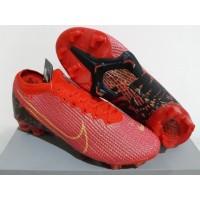 Sepatu Bola - Soccer Nike Mercurial 13 Elite Red Gold Black - FG