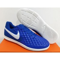 Sepatu Futsal Nike Tiempo Legend 8 Club Blue White
