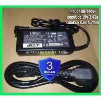 Adaptor Charger Laptop Acer Aspire 4741 4750 4736 ori bonus kabel powe