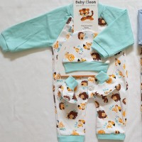 Grosir Rompers / Jumper Set Topi&Kaoskaki / Hanger Baby Animal