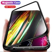 Case Magnetic 360 Type Samsung S7 Edge - Back Glass Case Full Cover