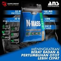 ANS N MASS N-Mass 15 lbs lb Weight Gainer bukan seriousmass elitelabs